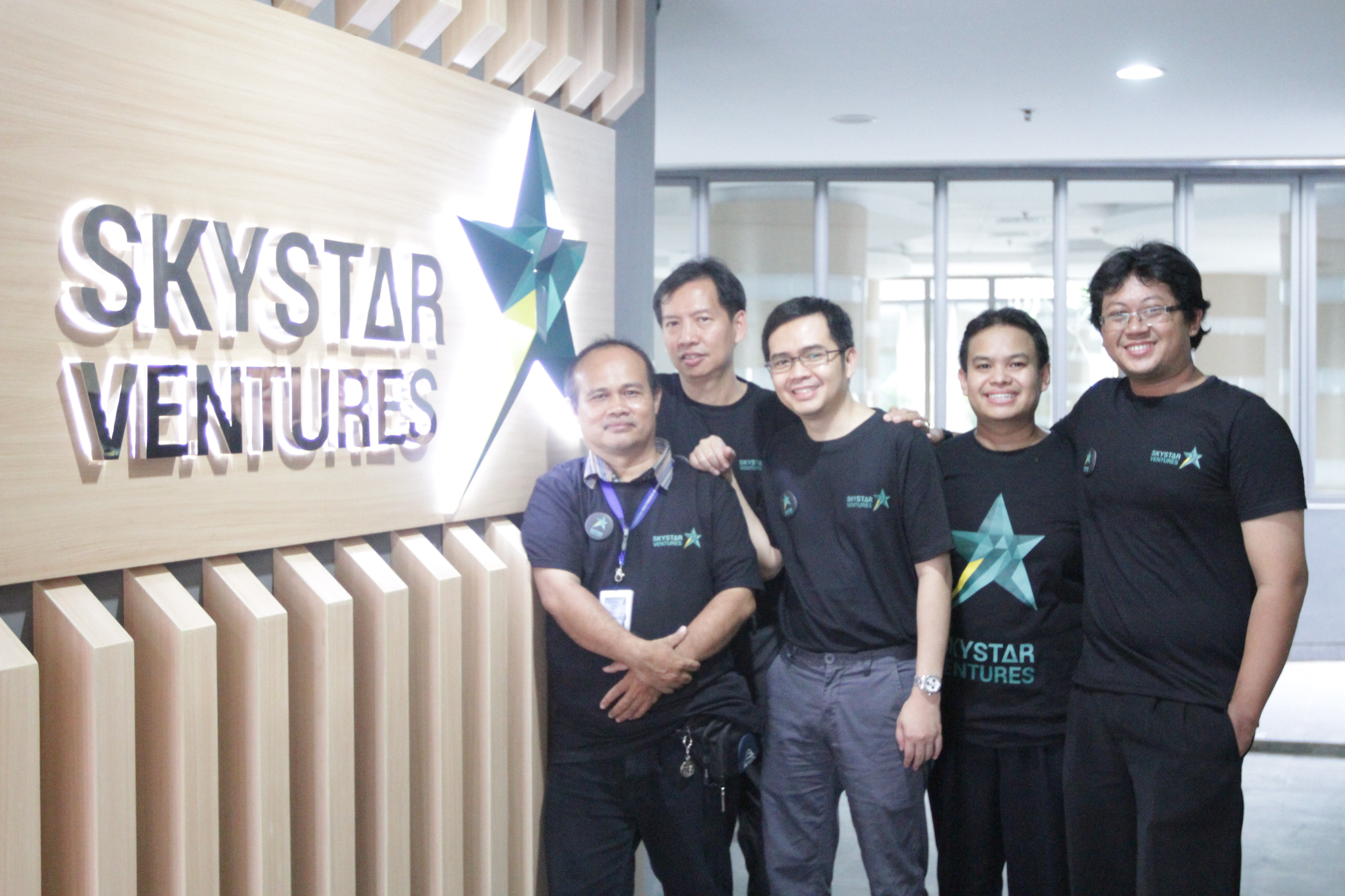 Team Rajaspot at SkyStar Ventures Front Office